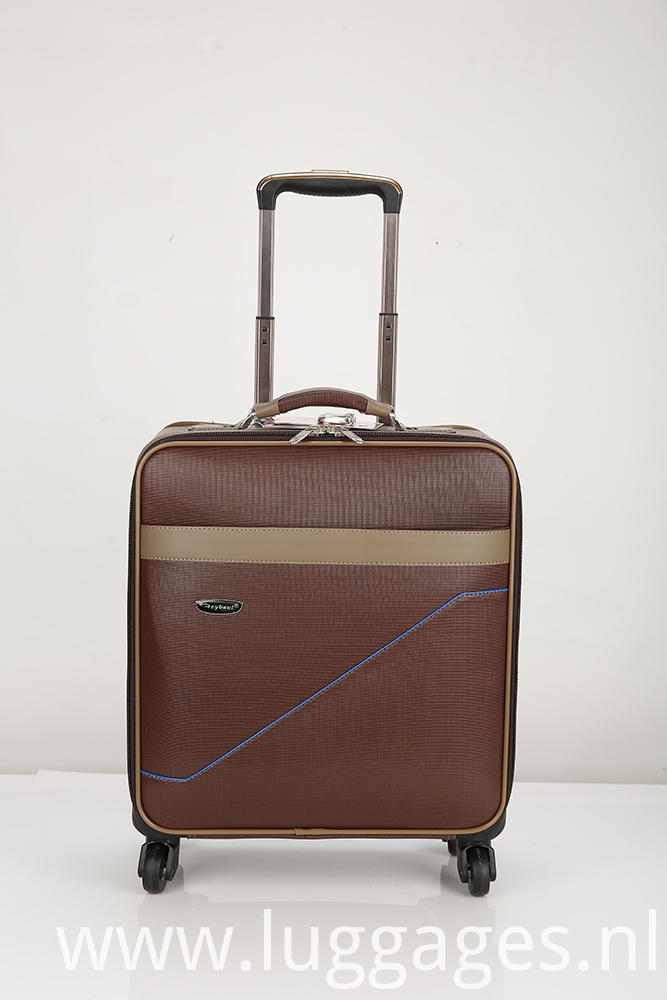Pu Rod Case Boarding Suitcase